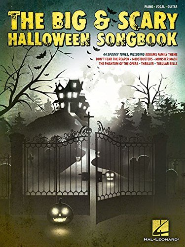 The Big & Scary Halloween Songbook by Hal Leonard Corp. (2015-08-01) -