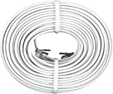 GE TL26530 Line Cord (50 Ft., White, 4-Conductor), Office Central
