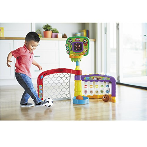 51SpWB91XzL - Little Tikes 3-in-1 Sports Zone Baby Toy, Infant Toy