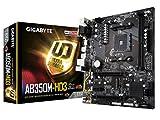 GIGABYTE GA-AB350M-HD3 AMD Ryzen AMD Ryzen AM4 B350 2 Way CrossFire HDMI M.2 SATA USB 3.1 Type-A Micro ATX DDR4 Motherboard