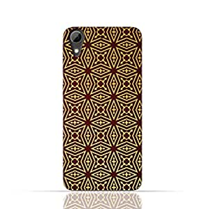 HTC Desire 626 TPU Silicone Case With Arbesque Ottoman Pattern Design