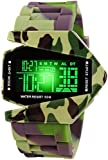 Pappi Boss Automatic Movement Analogue Digital Black Dial Men's Watch