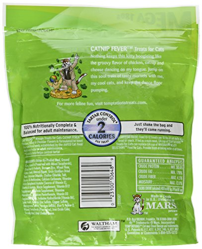 Temptations-Mix-ups-Cat-Treats-63-oz-Bag-Catnip-Fever-Chicken-Catnip-Cheddar-Flavors