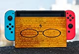 Inspirational Wizardry Quotes Design Print Image Nintendo Switch Dock Vinyl Decal Sticker Skin by Trendy Accessories