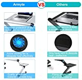 Upgraded Aluminum Laptop Stand Adjustable with