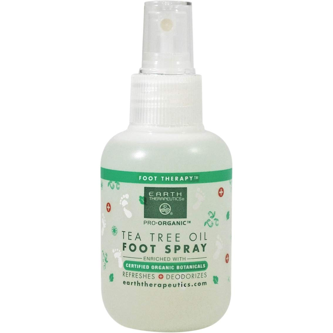 Earth Therapeutics Tea Tree Oil Foot Spray, 4 Ounce