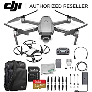 DJI 2019 Mavic 2 Pro 2 Drone Quadcopter with Hasselblad Camera 1″ CMOS Sensor with Ryze Tello Drone Trainer Bundle 51SpYBplH0L