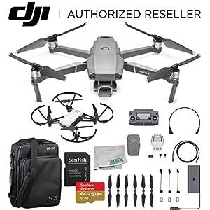 "DJI 2019 Mavic 2 Pro 2 Drone Quadcopter with Hasselblad Camera 1"" CMOS Sensor with Ryze Tello Drone Trainer Bundle 51SpYBplH0L"