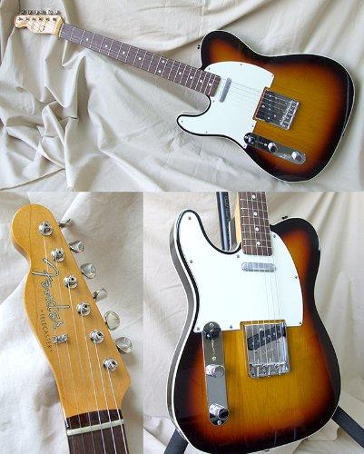 Fender Telecaster de madera de Japón tl62b/LH 3TS Lefty zurdos japonés guitarra eléctrica (