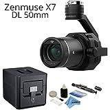 DJI Zenmuse X7 Gimbal/Camera with DJI 50mm f2.8 LS ASPH DL Lens Bundle