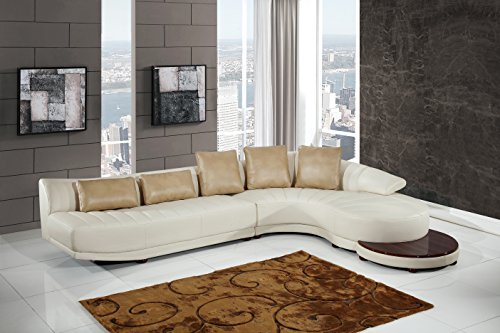 Global Furniture UFM208 - SECTIONAL Blanche Sectional, ()