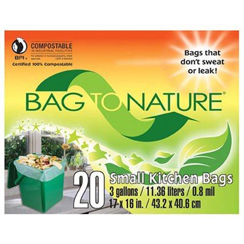 City Bag Hardware (Bag-To-Nature Compostable Bag And Liner, 20 (3 gallon) bags)