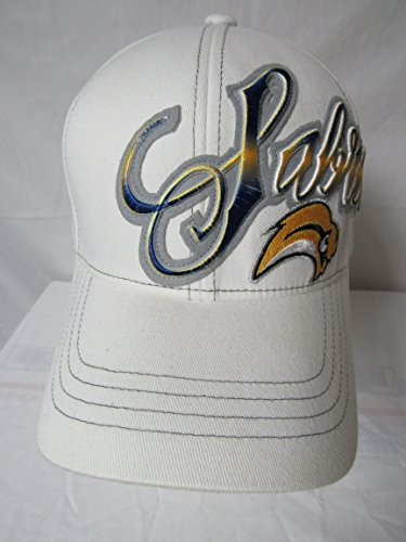 Buffalo Sabres Size OSFA Embroidered Drop Pass Flexfit Baseball Cap Hat E1 17