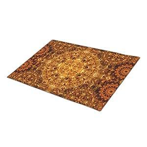 Eryoubs Doormat Golden Weave Mandala Customized Door Mats