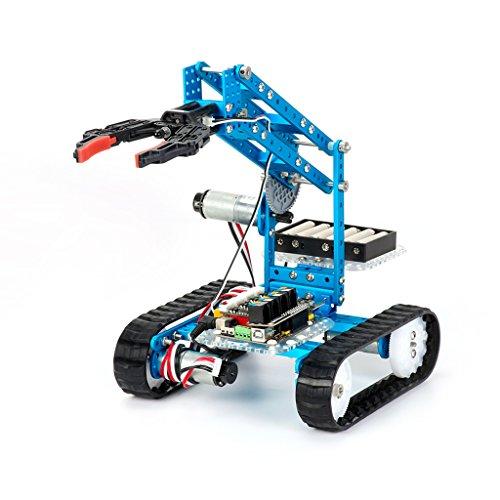 image Makeblock Ultimate-2.0 - 10-en-1 kit de robot pédagogique de programmation graphique DIY-Blue