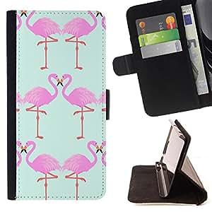 Dragon Case- Caja de la carpeta del caso en folio de cuero del tir¨®n de la cubierta protectora Shell FOR Apple iPhone 6 6S Plus 5.5- Swan Cute