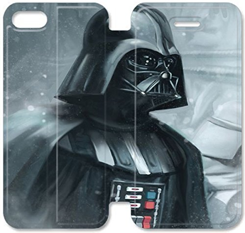 Coque iPhone 6 6s 4,7 pouces Coque Cuir, Klreng Walatina® 6 6s PU Cuir de portefeuille Coque Design By Darth Vader M7G7Xd