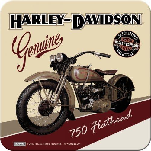 Nostalgic art harley davidson flathead 46106-dessous-de-plat