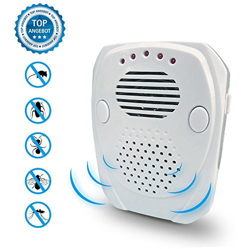 Price comparison product image Bodyguard Ultrasonic Pest Repellent - Electronic Plug In - Pest Control Ultrasonic Repeller Best for Mice,Mosquitoes,Ants,Spiders,Roaches