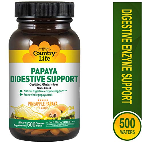 Papaya Digestive Support 500, 0.2 Pound