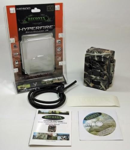 Reconyx HyperFire HC500 Semi - Covert IR Game Camera