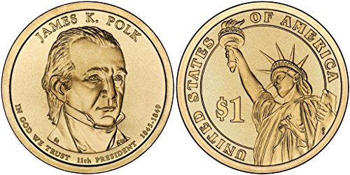 2009 P&D James K. Polk Presidential Dollar Set