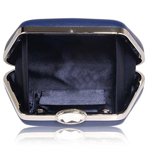 d'embrayage LeahWard monnaie Porte en Nude à Porte pour main Sparkly sac Sac Navy Bleu femme Evening Fête CWE286 monnaie TrUwqT