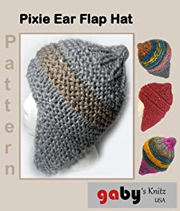 0a94d03ab53 Pixie Ear Flap Hat Pattern - Kindle edition by Gabriele Burris ...