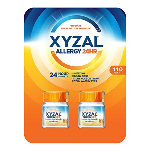Xyzal Allergy 24 Hour (110 ct.) (pack of 6) by XYZAL antihistamine
