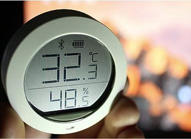 Thermom/ètre intelligent de temp/érature et dhumidit/é Yize Electronique Thermom/ètre Pro pour Xiaomi Surveillance de la temp/érature et de lhumidit/é Connexion intelligente