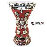 Gawharet El Fan 18.5'' Red Lava NG Sombaty Mother of Pearl Darbuka Doumbek Drum