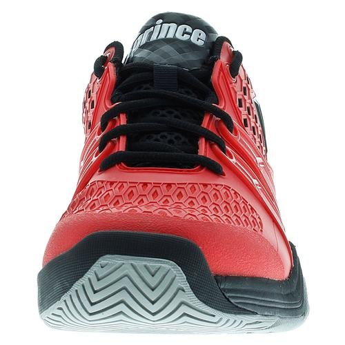 Prince Warrior Clay Court - Zapatillas de tenis Hombre, color rojo/negro Rojo