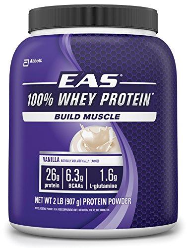 EAS 100% Whey Protein, Vanilla, 2-Pound, 23 Servings by EAS