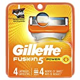 Gillette Fusion Power Men's Razor Blade Refills 4 Count