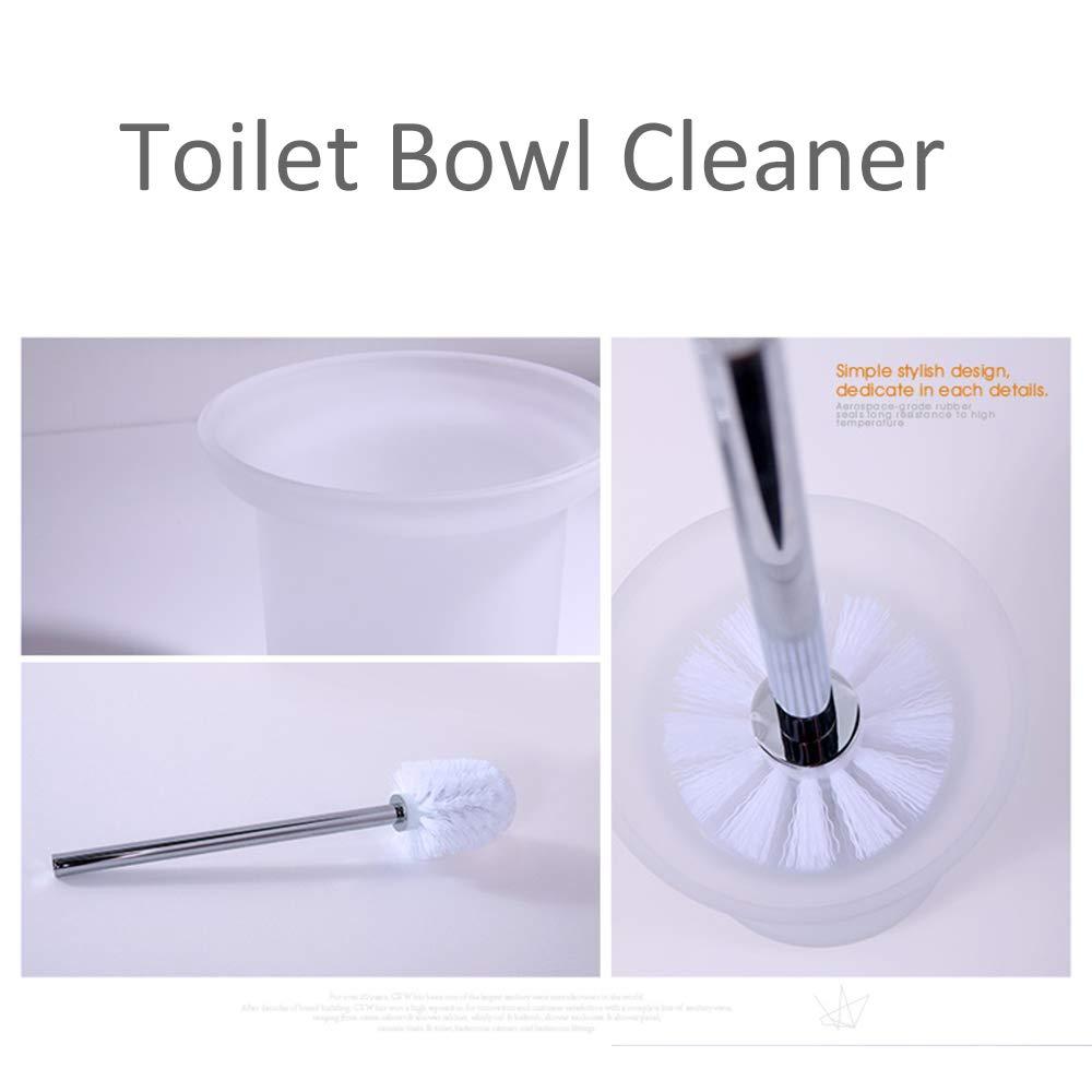 Amazon.com: CRW - Escobilla para inodoro y soporte para baño ...