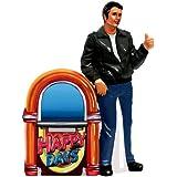 Westland Giftware Happy Days Magnetic Fonz and Jukebox Salt and Pepper Shaker Set, 4-1/2-Inch