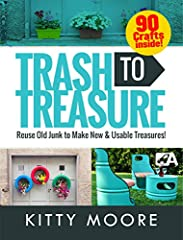 """Learn how to turn those""""junk"""" items around the house into treasures you can use yourself or sell for cash!              What if you could spend a weekend collecting all the """"junk"""" around your house and turning it into brand n..."""