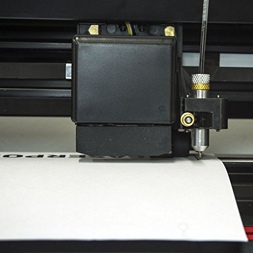 USCutter New 28'' LaserPoint 3 (LP3) Vinyl Cutter with ARMS Contour Cutting, Stand and Basket by USCutter (Image #4)