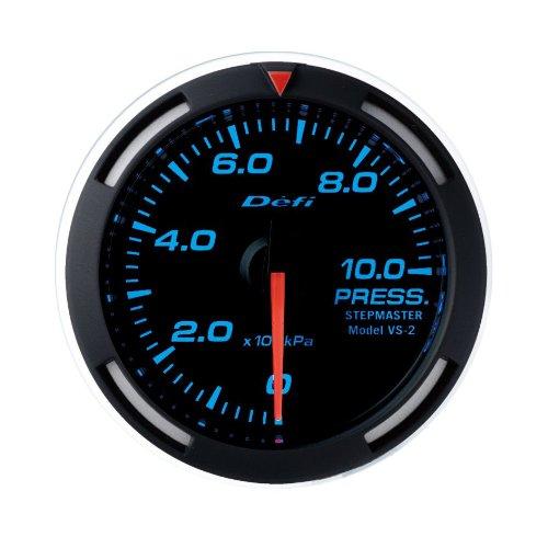 Defi DF06604 Racer Metric Pressure Gauge, White, 52mm