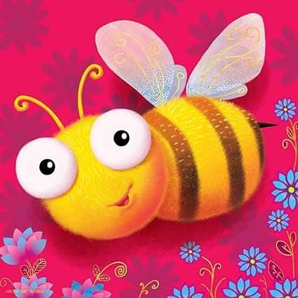 Arohi Art World Bee Painting For Kids Room Wall Decor Wall Hangings