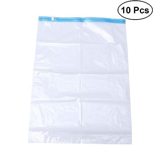 10pcs Organizer Storage Bag Clothing With Saving Package Seal Vacuum Compressed