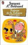Tristesse de la balance et autres signes par Bertrand