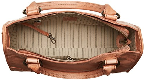 FRYE Melissa Zip Satchel Leather Handbag, dusty rose by FRYE (Image #5)