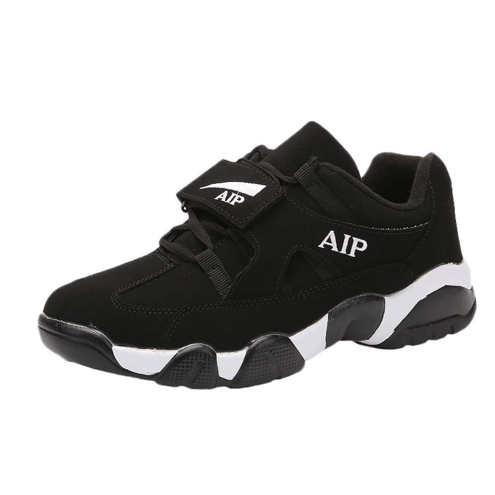 Botas Hombre Tenis Hombre Casual Hombre Zapato Deportivo De Color Mezclado Plano Respirable Antideslizante Antideslizante Sneker