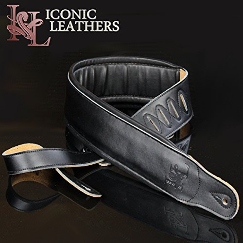 Padded Leather Bass (Iconic Leathers 3.25