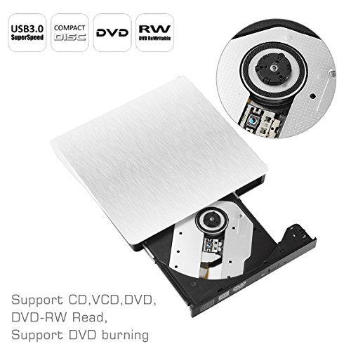 Amazon.com: Unidad de DVD externa para portátil, sibaok ...