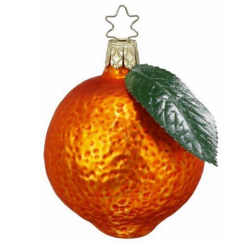 Orange Juice, #1-089-10, by Inge-Glas of Germany by Inge-Glas Manufaktur