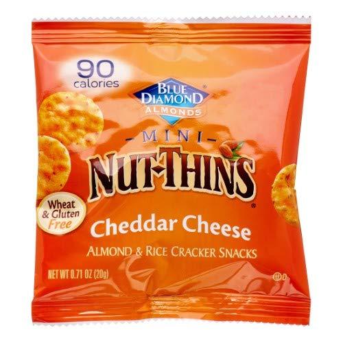 Mini Almond & Rice Cracker Snacks (Pack of 24)