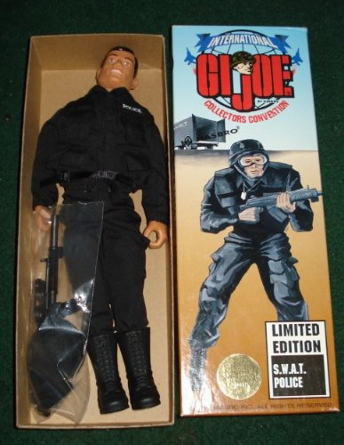 GI JOE COLLECTORS CONVENTION LIMITED EDITION SWAT POLICE 12
