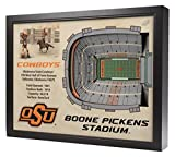 NCAA Oklahoma State Cowboys - BOONE Pickens Stadium Stadiumview Wall Art, One Size, Birch Wood